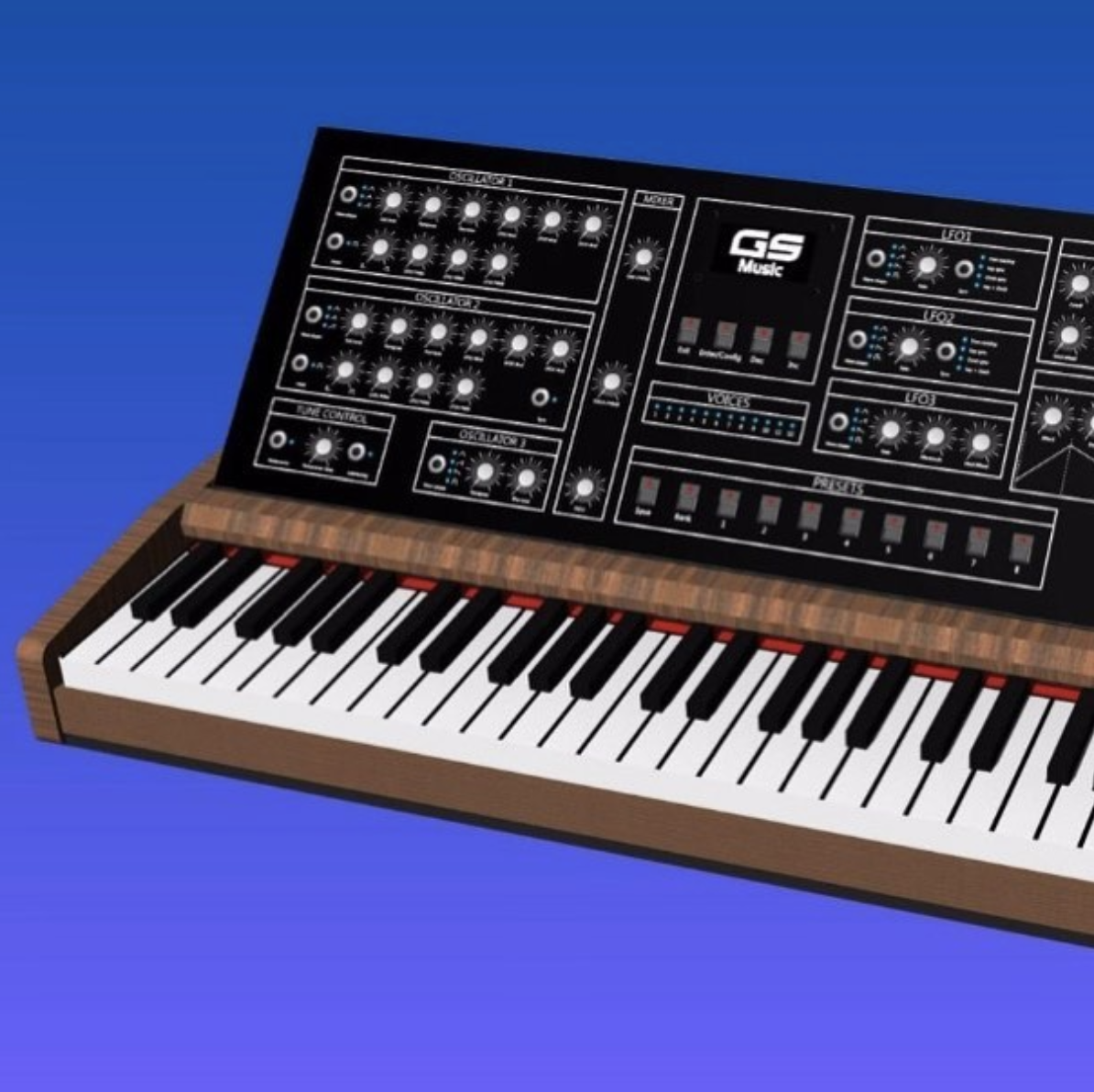Argentina synth maker GS Music – maker of the Apollo 1 synthesizer